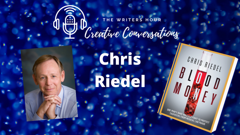 Chris Riedel on The Writers Hour - Creative Conversations with Janine Bolon