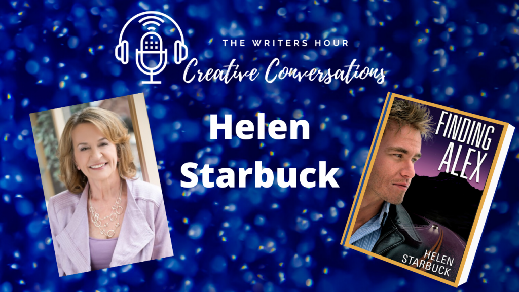 Helen Starbuck Author on The Writers Hour - Creative Conversations with Janine Bolon