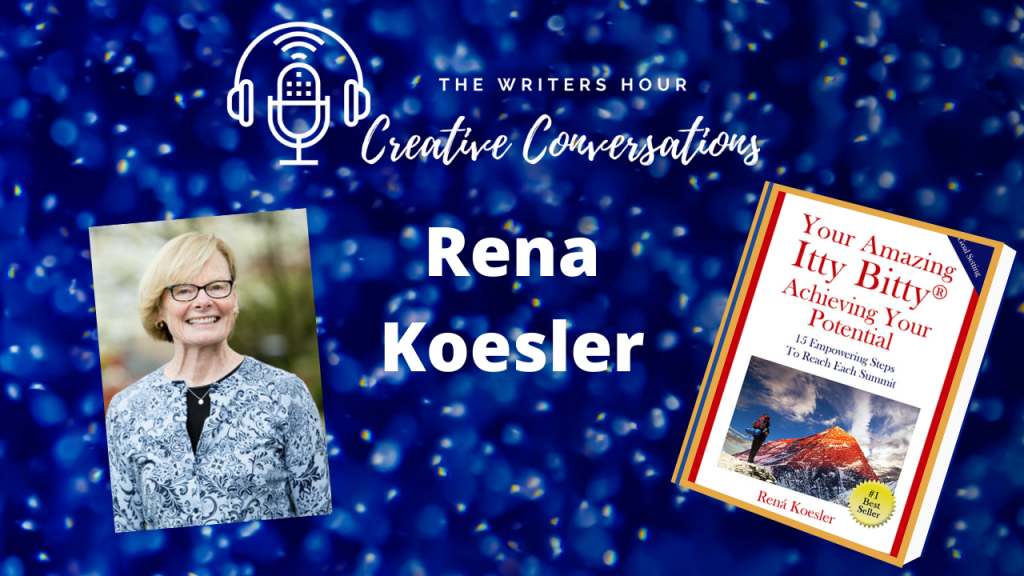 Rena Koesler, Achieving your Potential on The Writers Hour - Creative Conversations with Janine Bolon