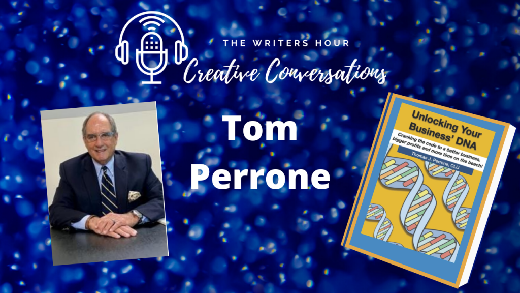Tom Perrone on The Writers Hour - Creative Conversations with Janine Bolon