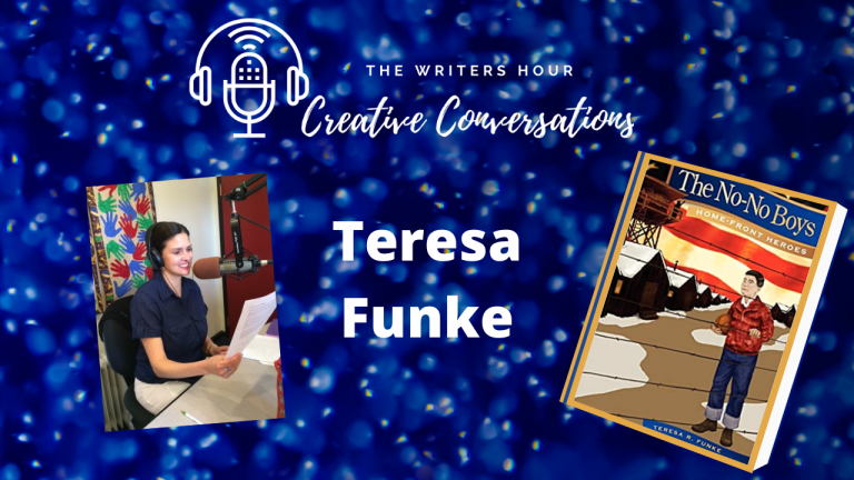 Teresa Funke, Writing Enthusiast and WW2 Author on The Writers Hour - Creative Conversations with Janine Bolon